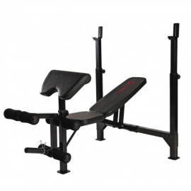 Marcy Eclipse Olympic With Barbell Bench