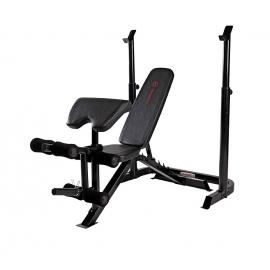 BE3000 Mid With Barbell  Bench